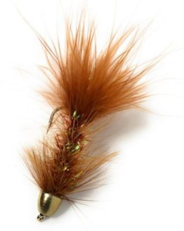 CH Wooly Bugger Brown Fishing Fly