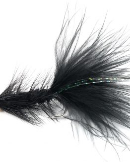Wooly Bugger Black Fishing Fly