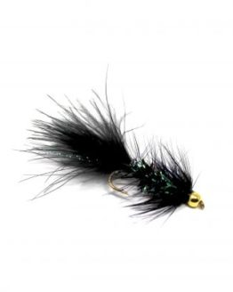 BH Wooly Bugger Black