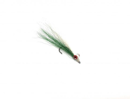 Clouser Minnow Green/White